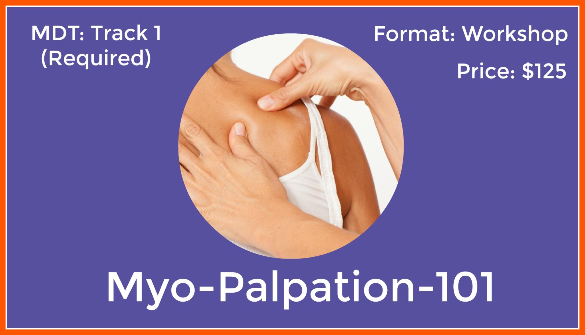 MPA-101<br>Myo-Palpation-Shoulder
